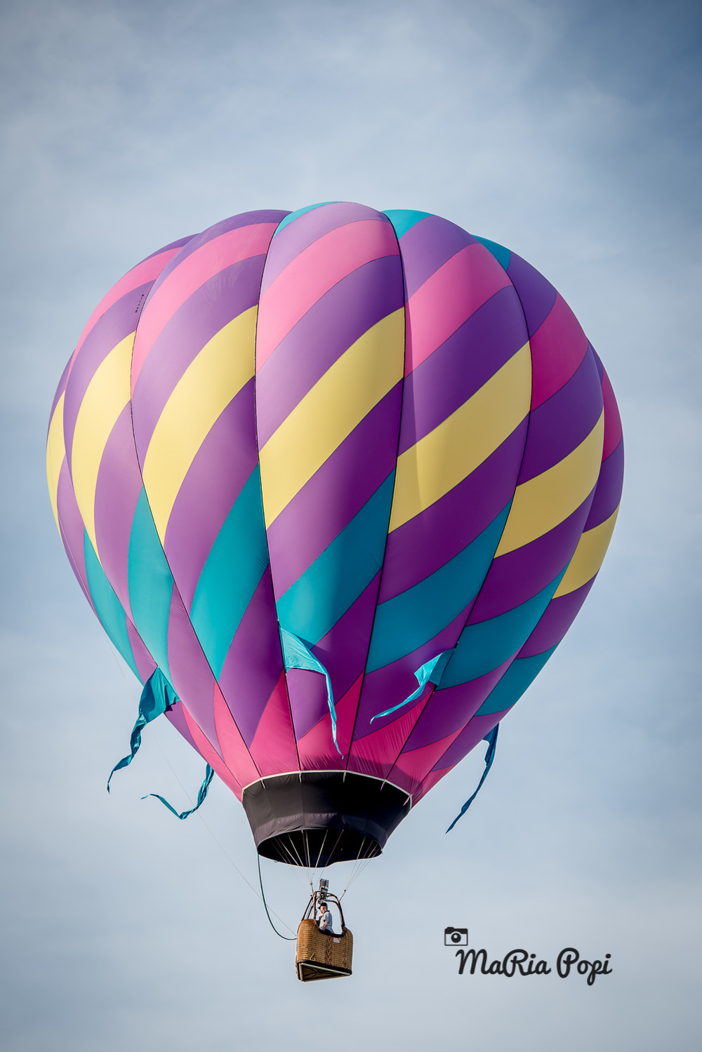 Balloon takes to the sky during Michigan Challenge Balloon Fest 2014, Howell,Mi.