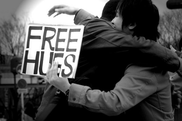Free Hugs Flashmob