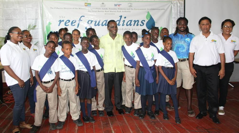 Launch of Reef Guardians Program in Grenada.