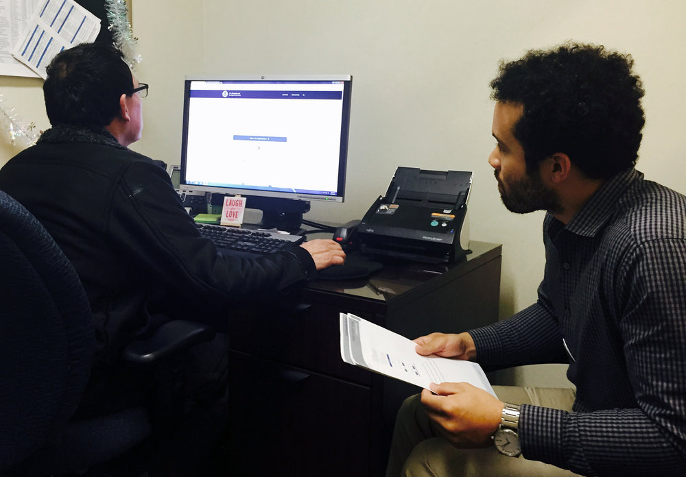 Usability testing on the naturalization application