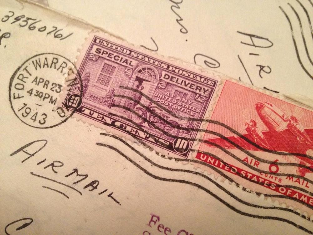 "Close-up of a ""Grandpa Letter."""