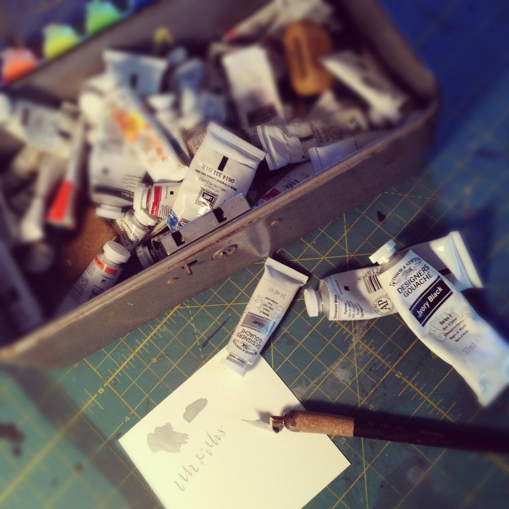 Paint & prep.
