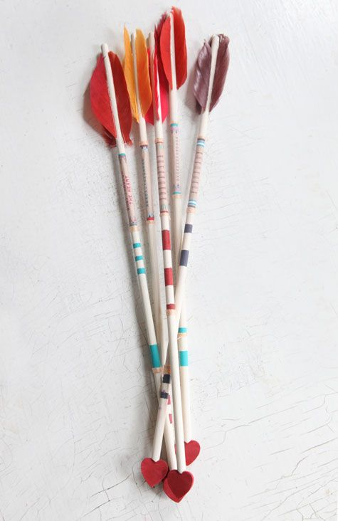 DIY Heart Arrows from Design*Sponge