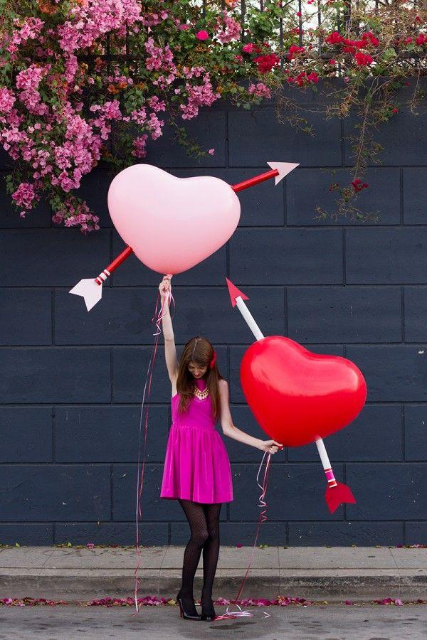 Heart balloon DIY from Studio DIY