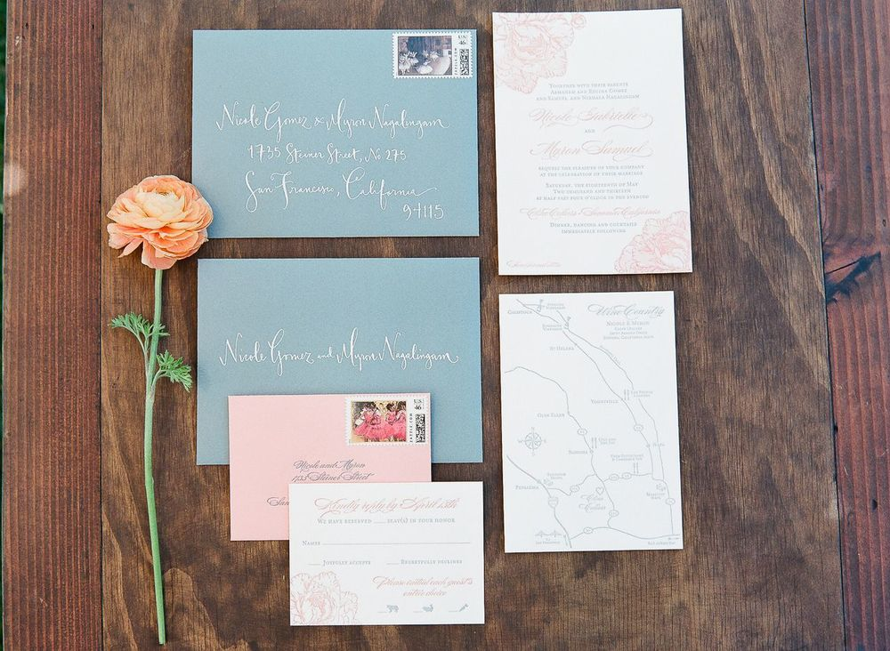 Real Weddings by Kathryn Murray Calligraphy