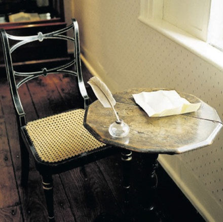 Jane Austin's desk.