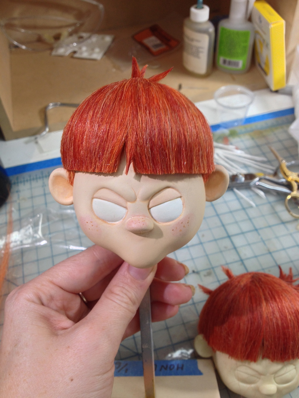 Styled/applied hair for all puppets in 2013 Happy Honda Days holiday commercial spots for Shadow Machine Animation
