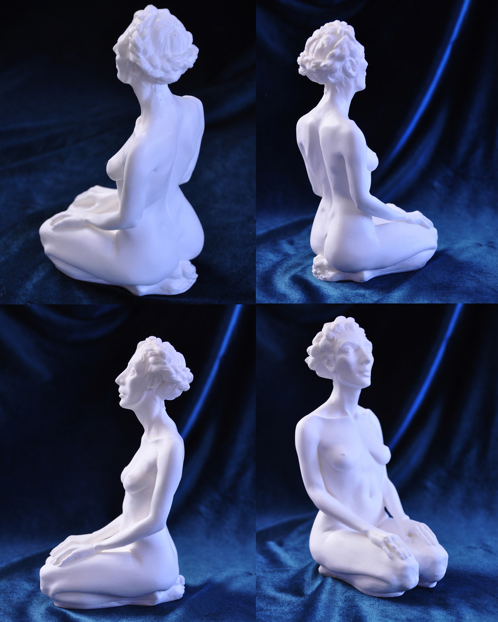 Figure Cast in Resin