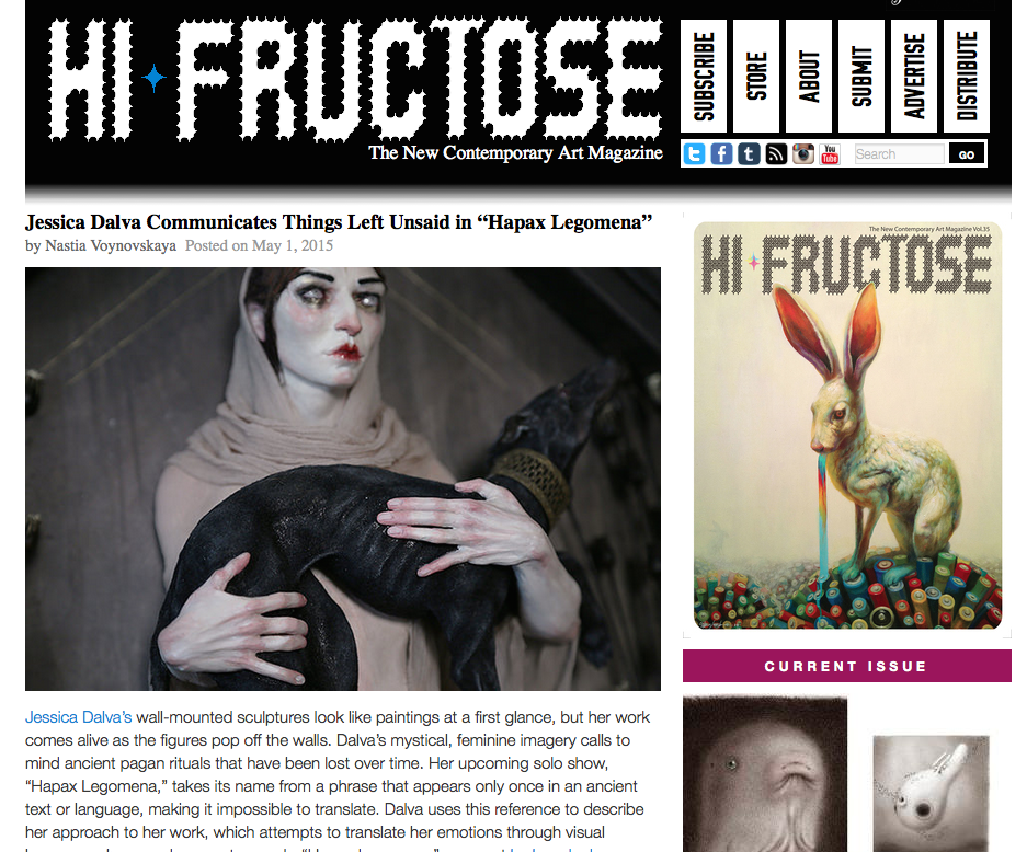 Hi-Fructose Online Article
