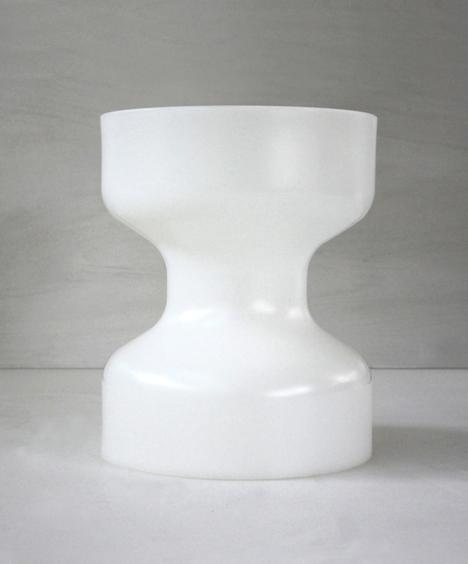 korban flaubert_natural white tuff stool