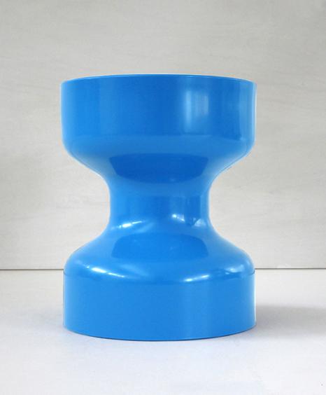 korban flaubert_light blue tuff stool