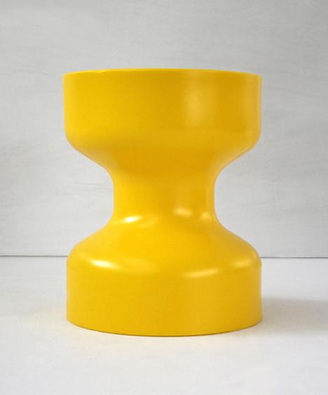 korban flaubert_yellow tuff stool