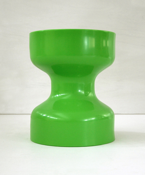 korban flaubert_leaf green tuff stool