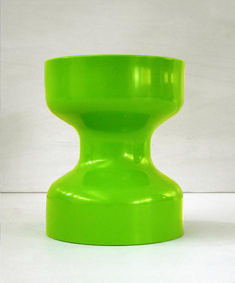 korban flaubert_lime green tuff stool