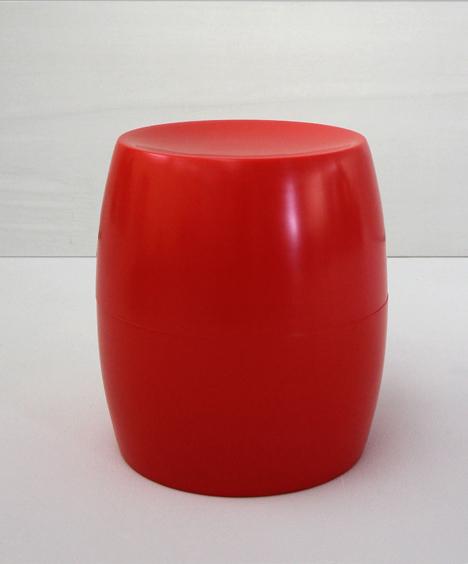 korban flaubert_red bongo stool