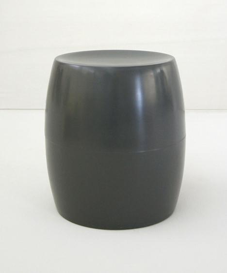 korban flaubert_charcoal bongo stool