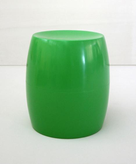 korban flaubert_leaf green bongo stool