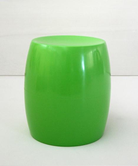 korban flaubert_lime green bongo stool