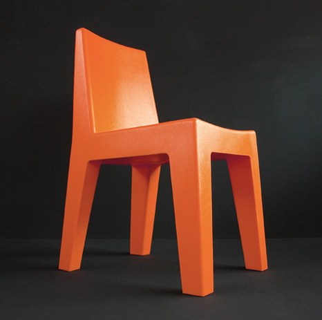 korban flaubert_orange mighty chair