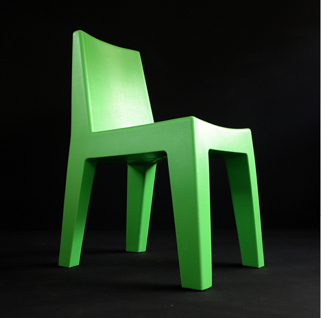 korban flaubert_leaf green mighty chair