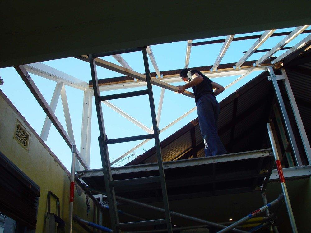 skylight triangulated steelwork 2005.jpg