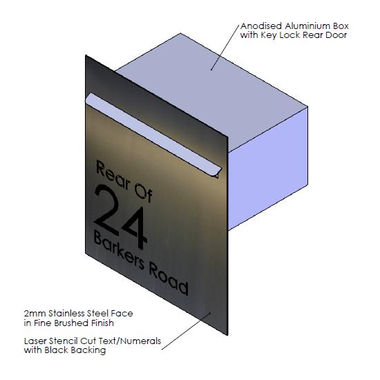 Faceplate  - 390mm (w) x 470mm (h) x 2mm (d)   Internal Box  - 350mm (w) x 185mm (h) x 240mm (d)