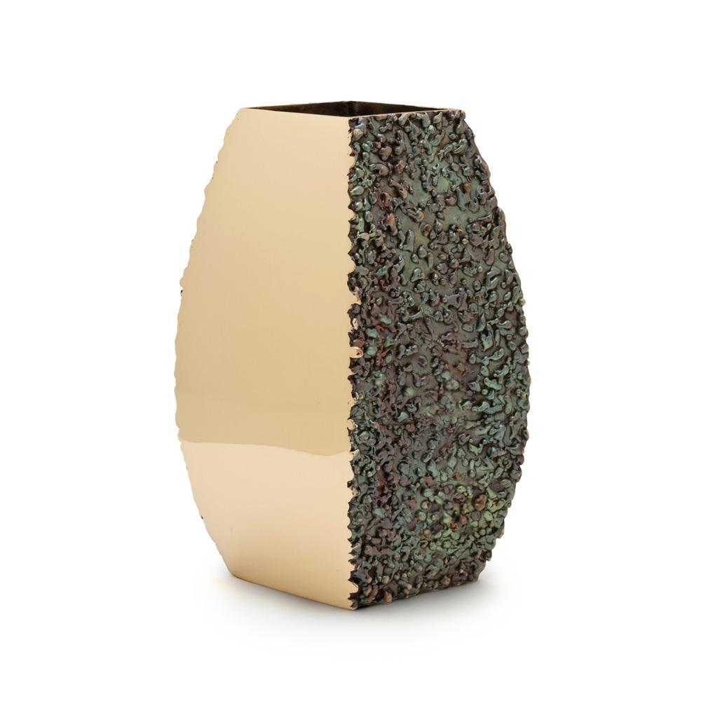 "Polish/Texture - bronze  7"" x 4"" x 2.5"""