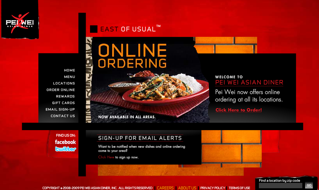 Pei Wei Website