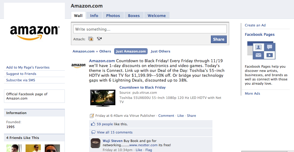 Black Friday 2010 - Pre Deals - Amazon.com
