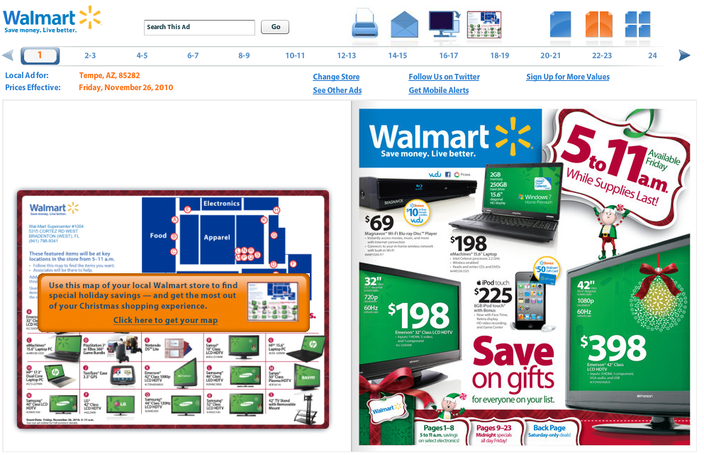 walmart.com -deals page