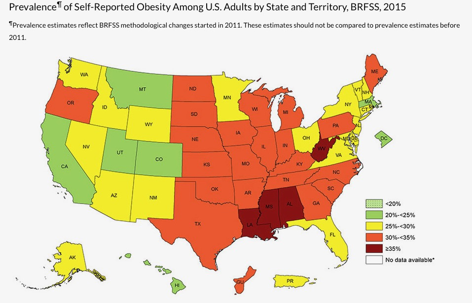 https://www.cdc.gov/obesity/data/prevalence-maps.html