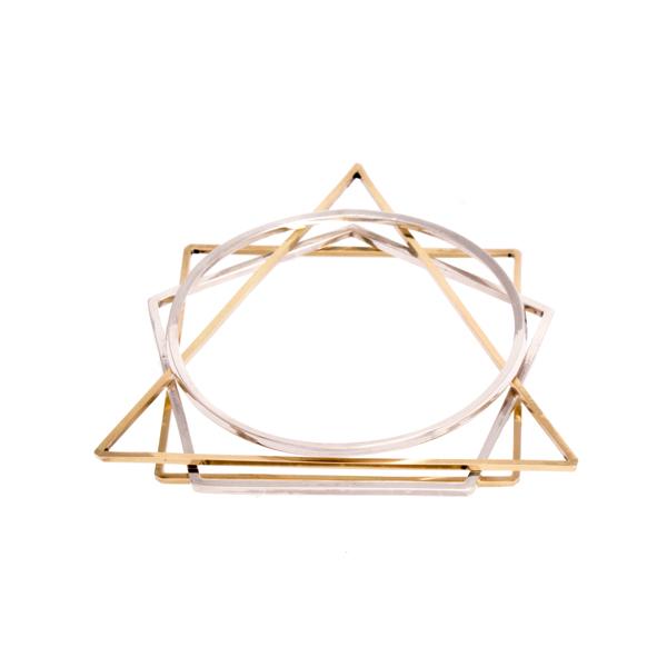 Vitruvius Stacking Bangles Jenny Parker - £60
