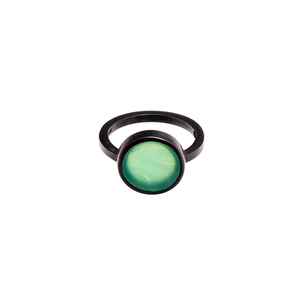 Green Dot Ring   Sian Evans  - £150.00