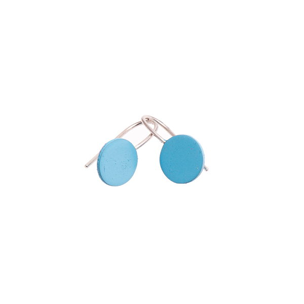Circle Drop Earrings   Sian Evans - £30.00