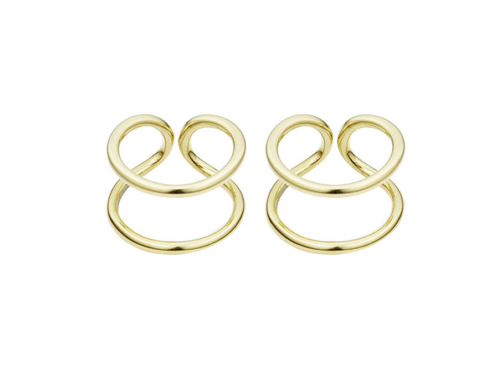 Coops London, Original Gold Earrings £125