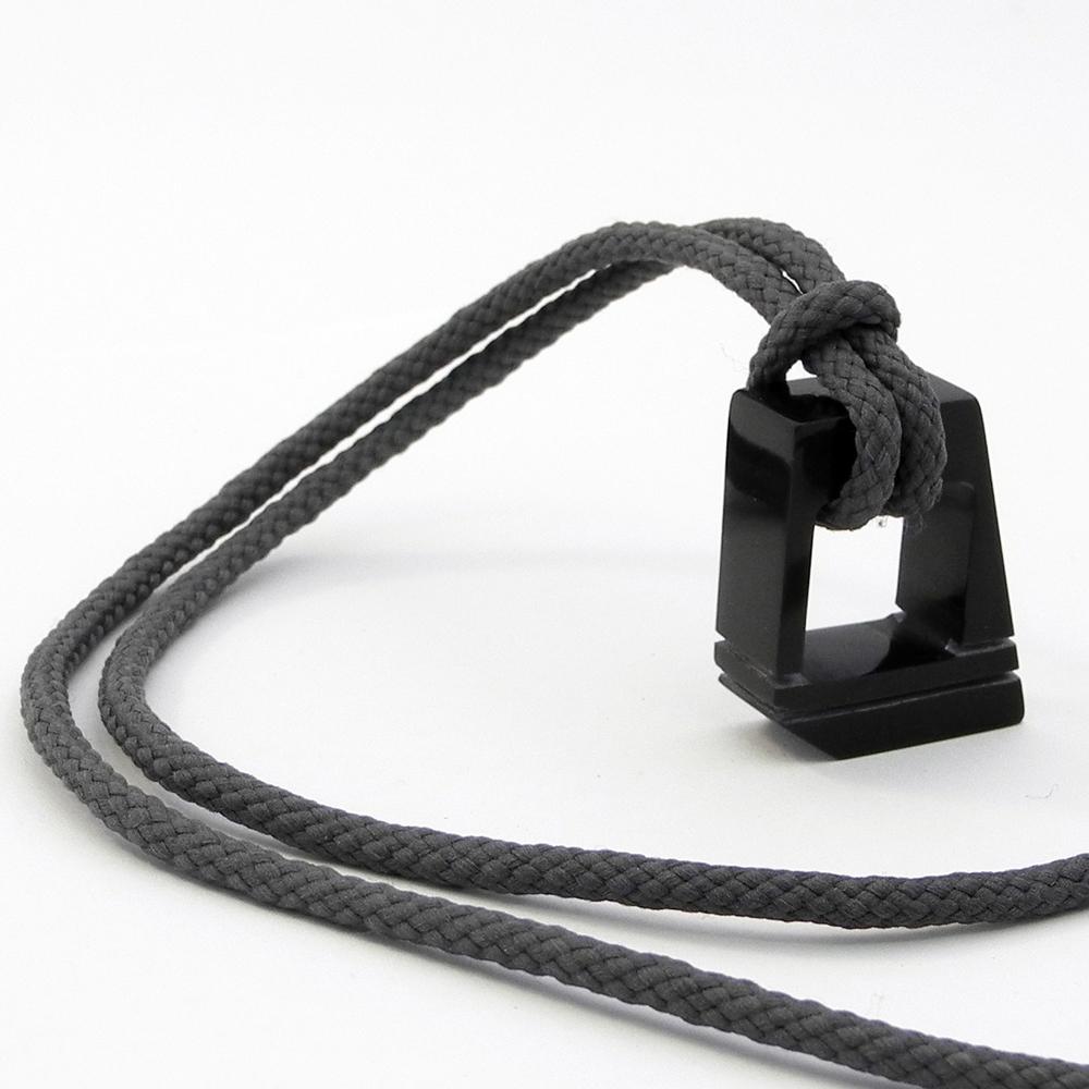 Sophie Thomas Black Corian Pendant
