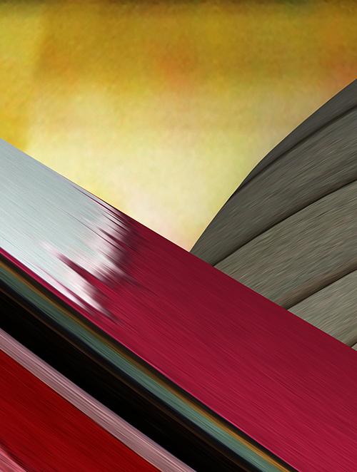 Bencu  'Dreaming 2' Digital print on canvas 30x42cm 2014.
