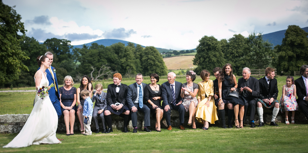Wedding photographs at Borris House