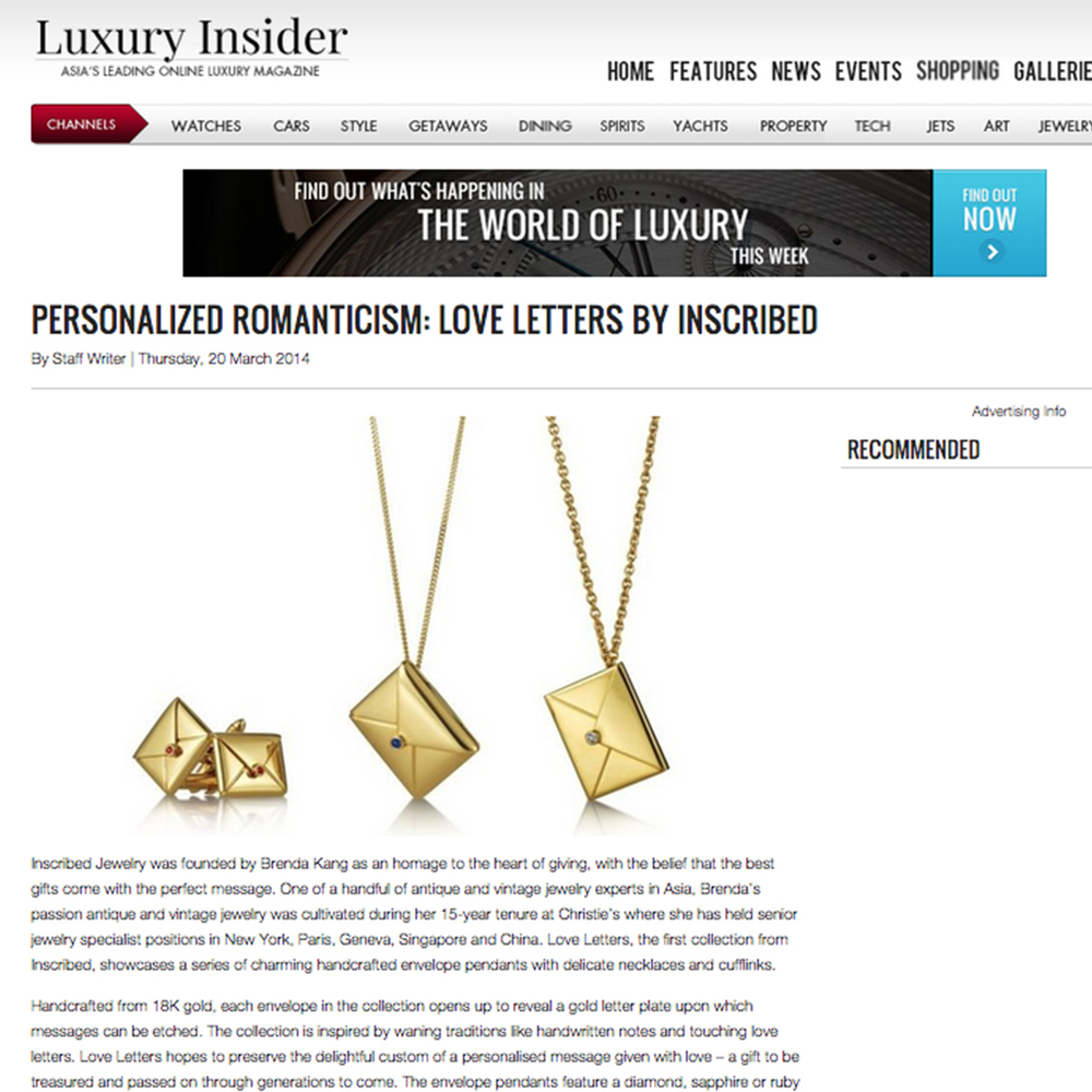 luxury insider march 2014