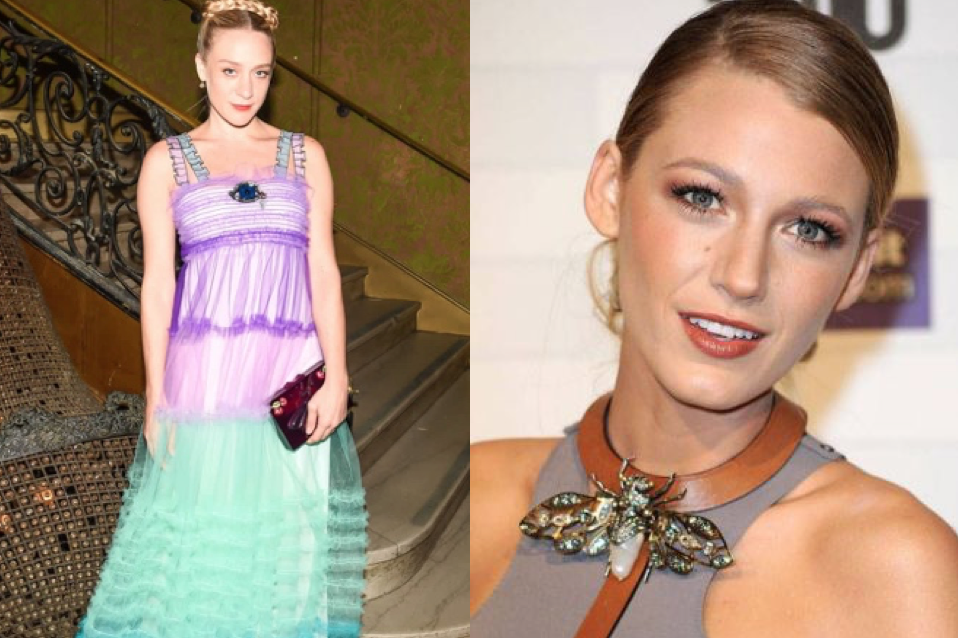 Chloe Sevigny (left) and Blake Lively (right)