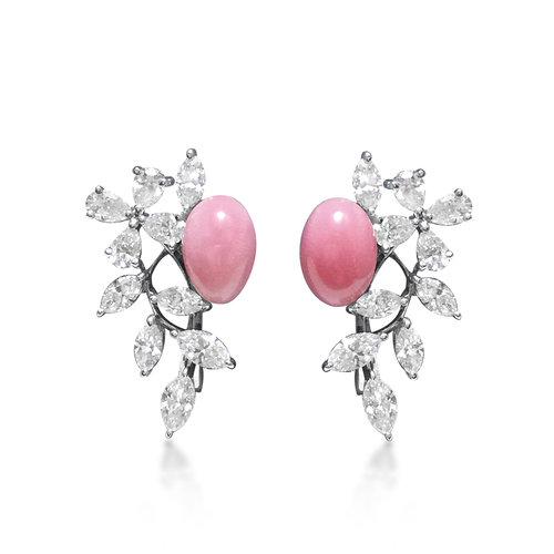 earrings store mikimoto owned pre lyre img pearl products authentic