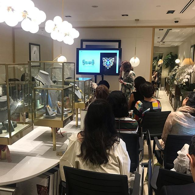 A big thank you to @vivienne.becker @jewelsandthegang @directionsgroupinc for making our 5th anniversary event a success. Thank you to all our clients, friends, family, business associates for your great support. We would not be here without you! Stay tuned for more of these lectures coming in Spring! #grateful #thankful #happy #revivalvintagejewels #revivaljewels #vintagejewels
