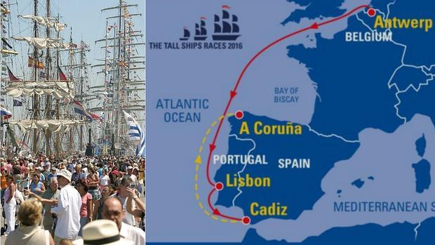Del 28 al 31 de julio Cádiz va a disfrutar de una visita muy especial, porque a nuestro puerto van a llegar muchos veleros de distintas naciones. Esa imagen nos va a recordar que Cádiz fue un día una gran capital del comercio marítimo, y sin dudas ervirá para refrescar la esperanza de volver a construir un futuro de prosperidad para la ciudad ligada al mar.    + INFO EN  http://www.regatacadiz2016.es/