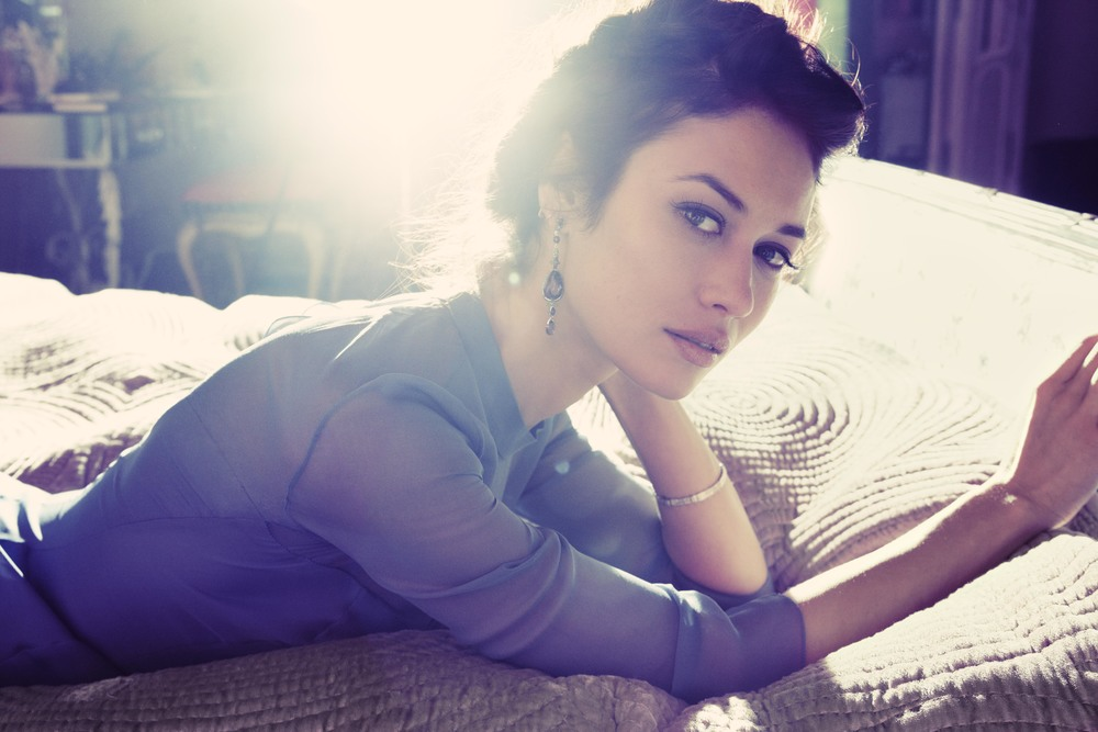 Olga Kurylenko InStyle April 13  Photographer: Alisa Connan