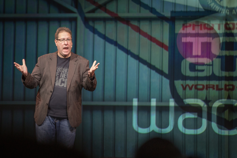 Scott Kelby introducing Wacom's new products.