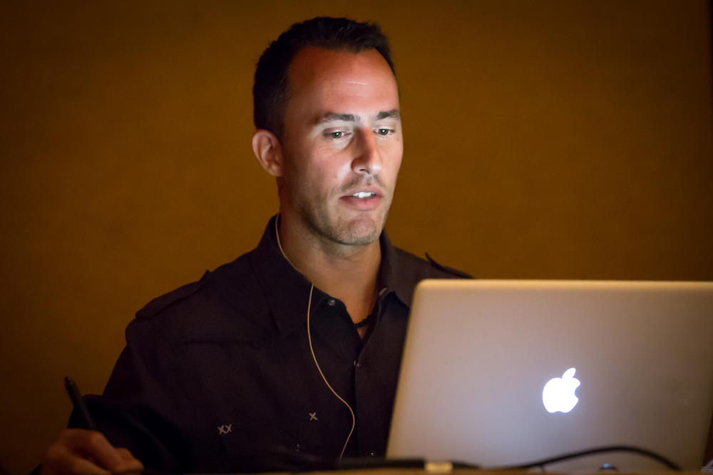 Matt Kloskowski teaching Lightroom 5 Boot Camp.