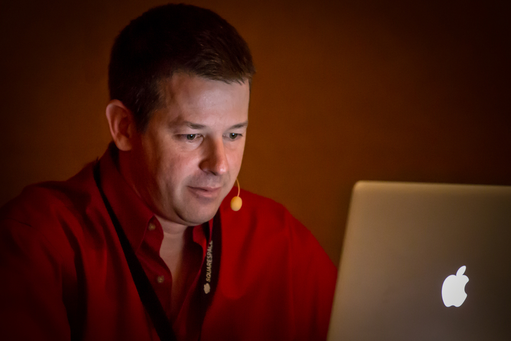 Pete Collins teaching Lightroom 5 Tips & Tricks.