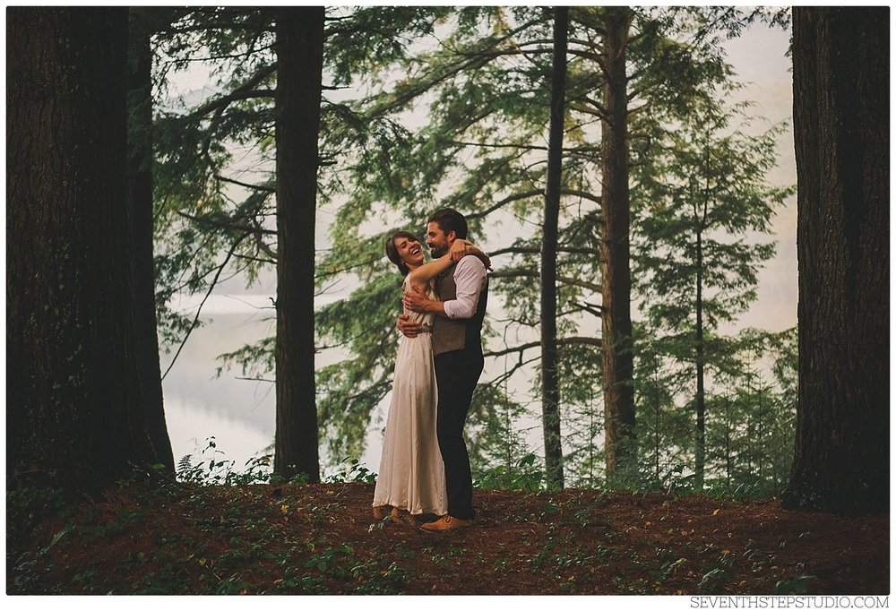 Caitlin + Winston : Destination Wedding, Akiwassasne. New York State.  Wedding Photography © Seventh Step Studio.