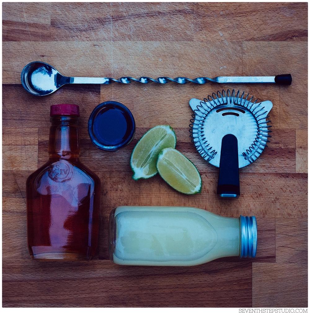 Lavender Bourbon Sour - Signature Cocktail : Seventh Step Studio, Toronto & Ontario Wedding Storytelling