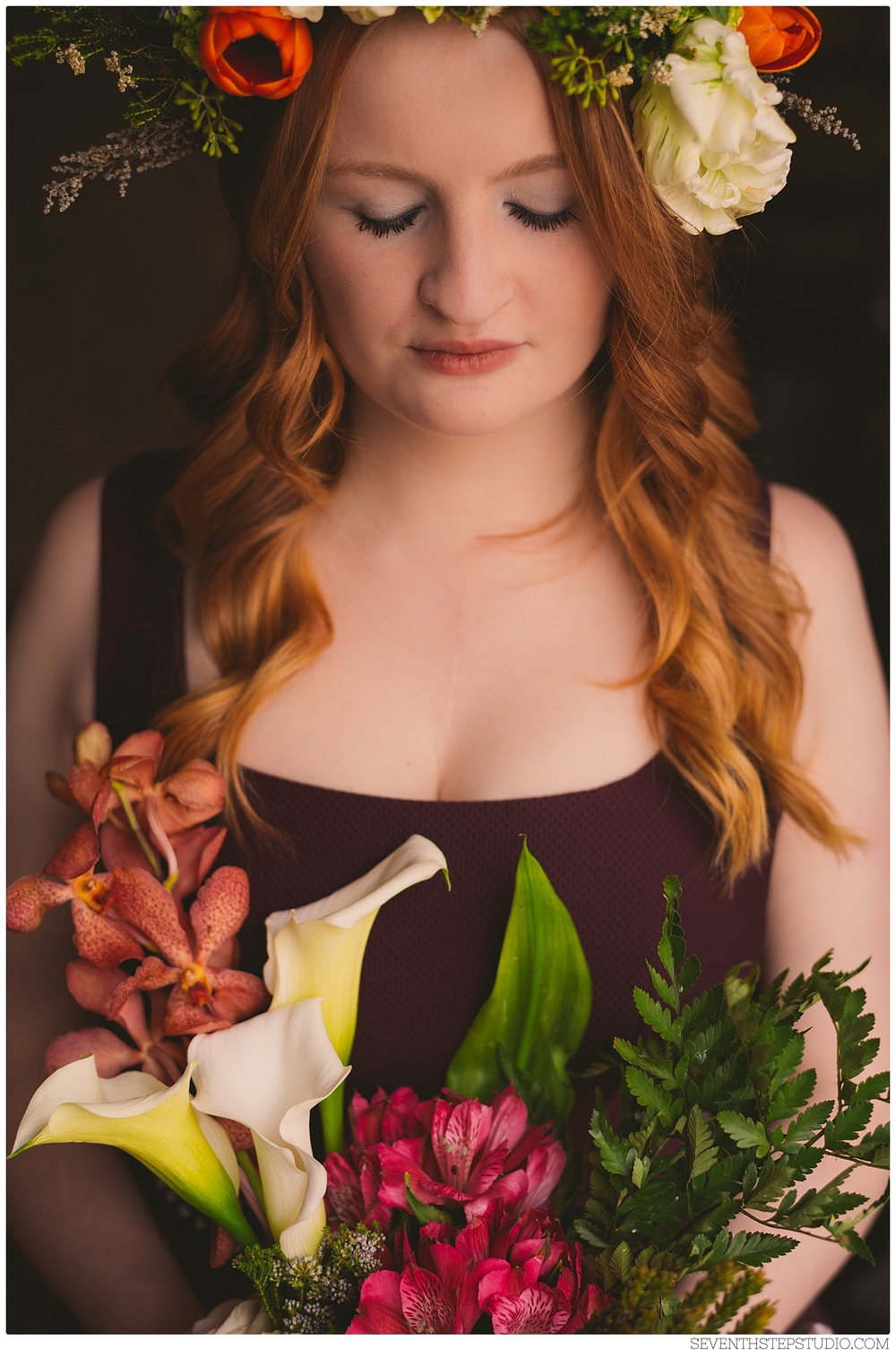 Seventh Step Studio + Calyx & Corolla - Floral Styled Shoot Collaboration - Fuss Hair Studio, Toronto ON